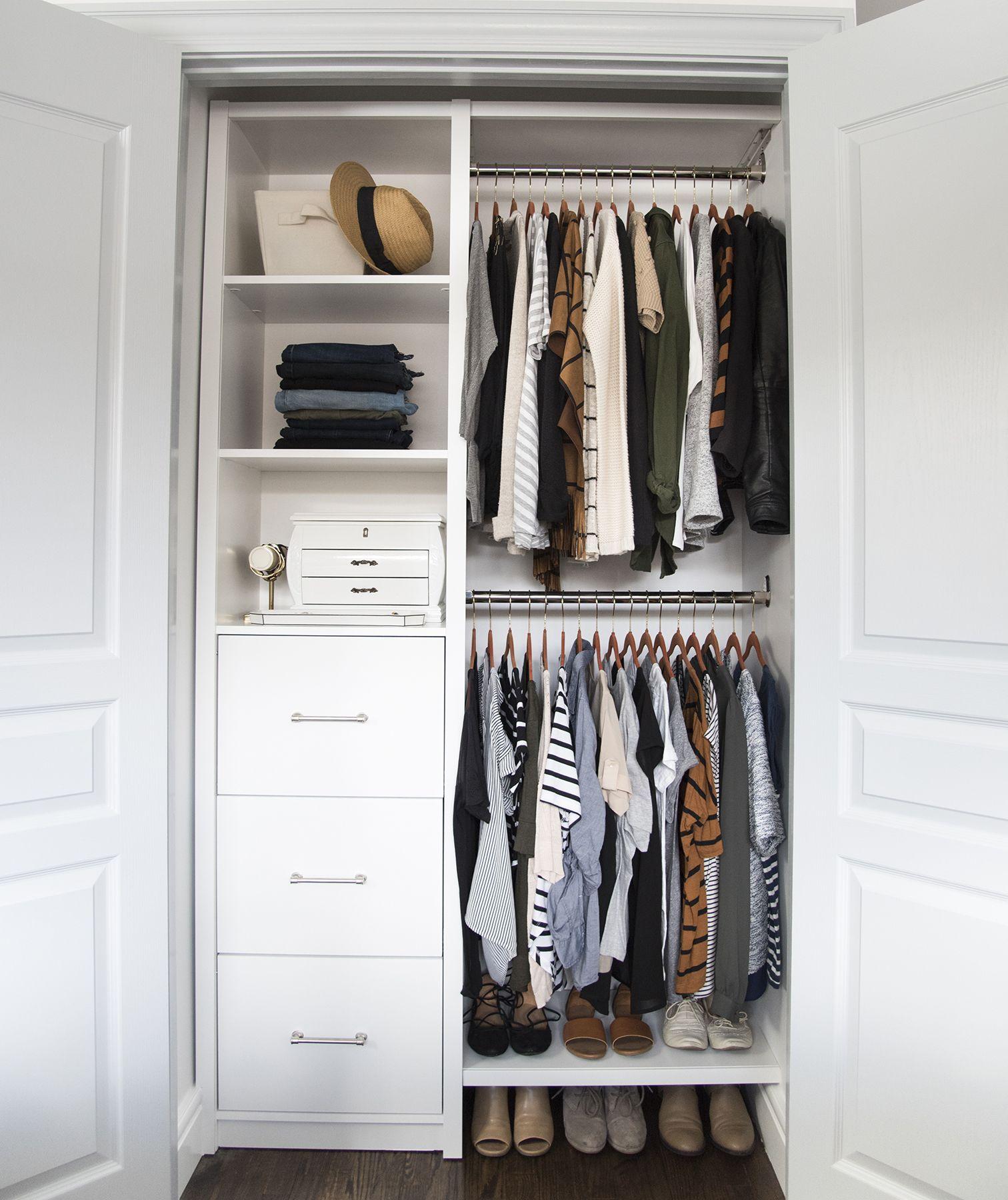 Полезные идеи организации гардероба фото 5
