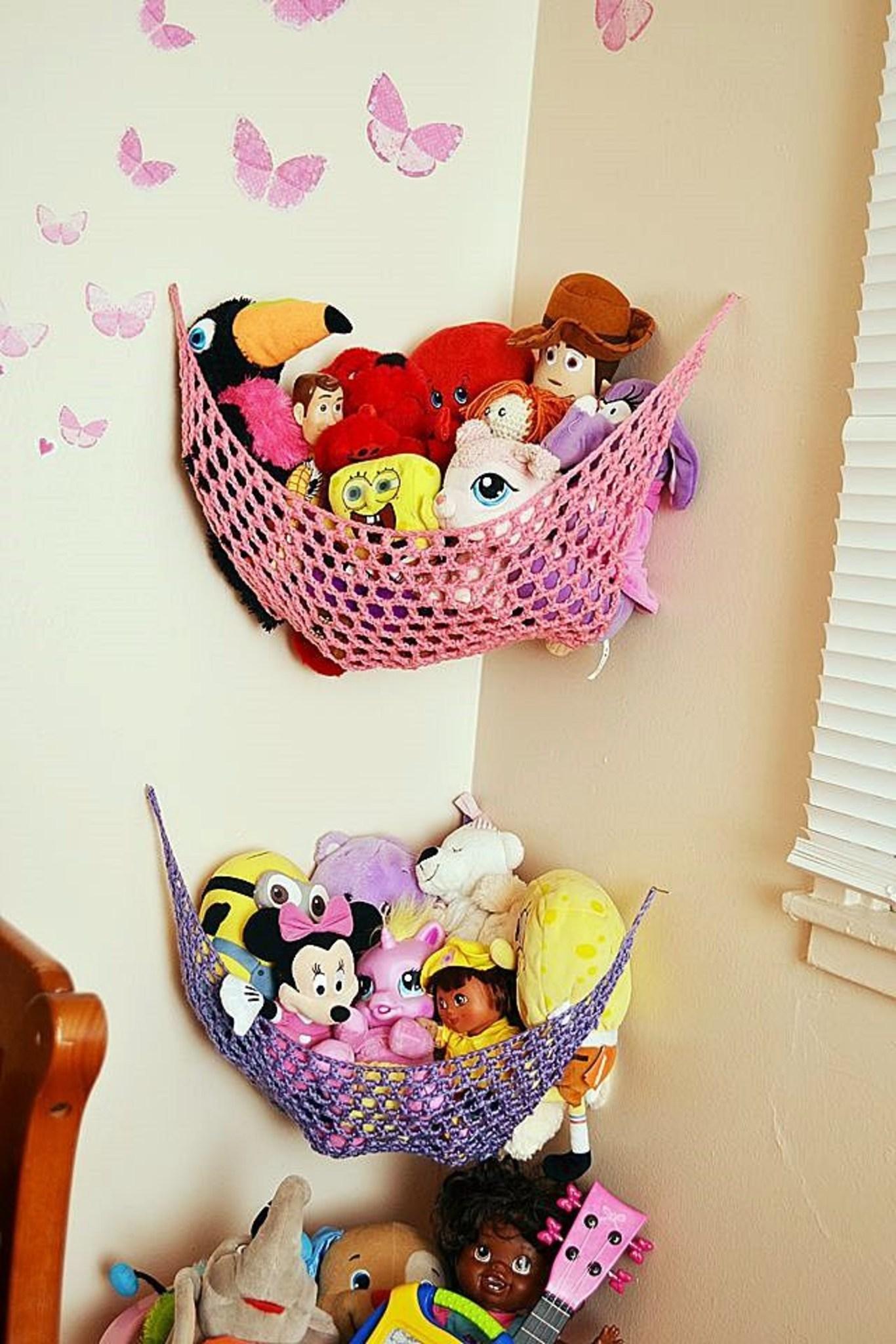 Идеи для хранения детских игрушек фото 1