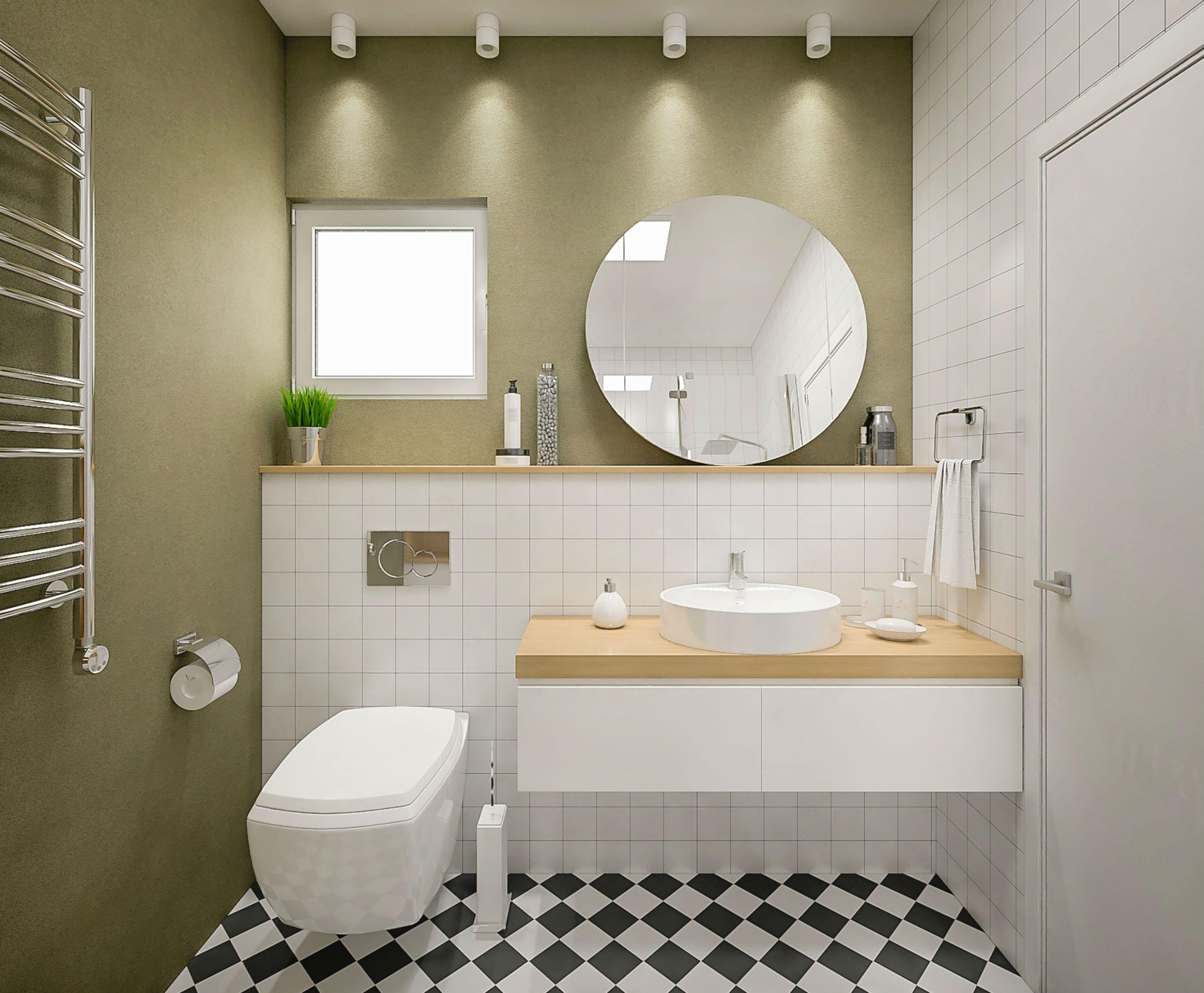 дизайн ванной комнаты фото 17