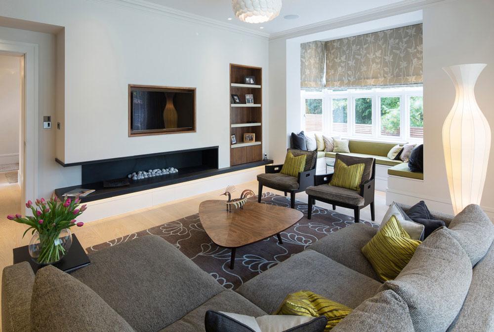 Советы для организации пространства в вашей гостиной фото 1