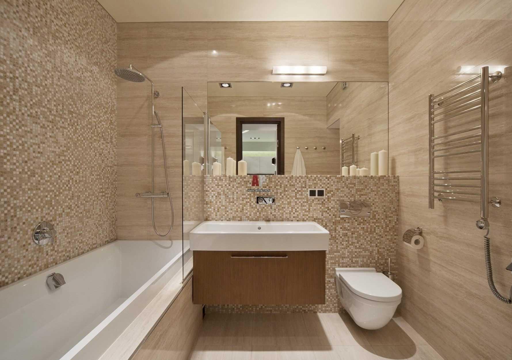 дизайн ванной комнаты фото 9