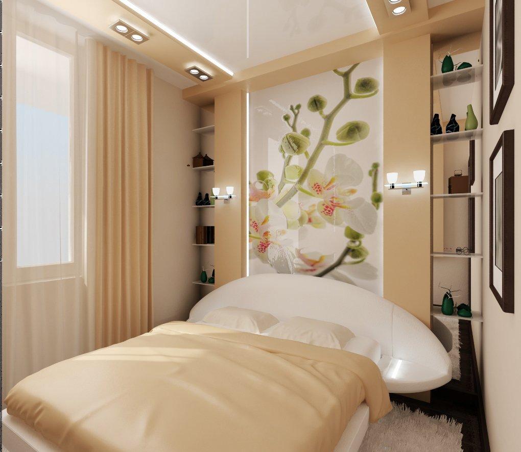 Дизайн интерьера небольшой спальни фото 3