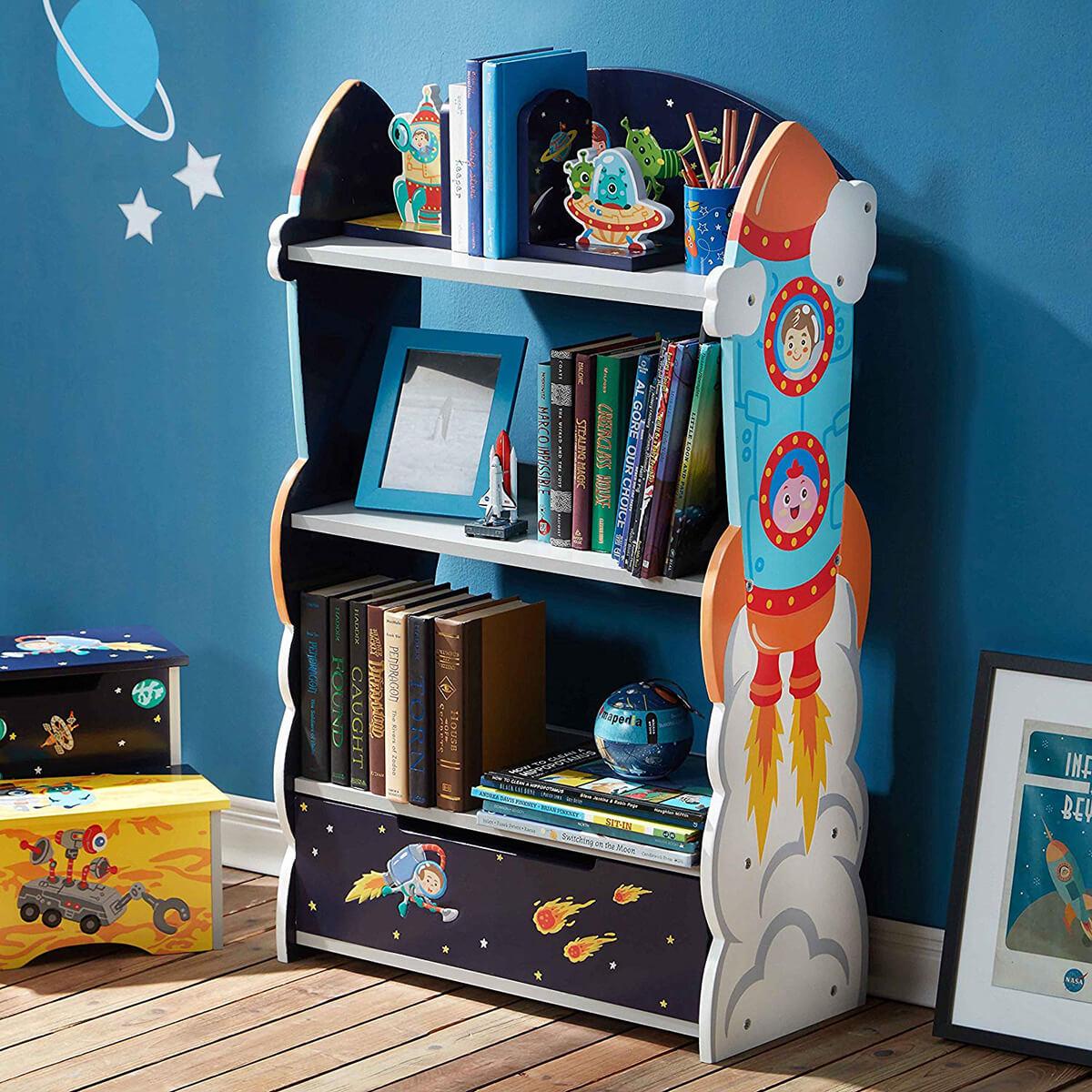 Как организовать пространство в комнате вашего ребёнка фото 11