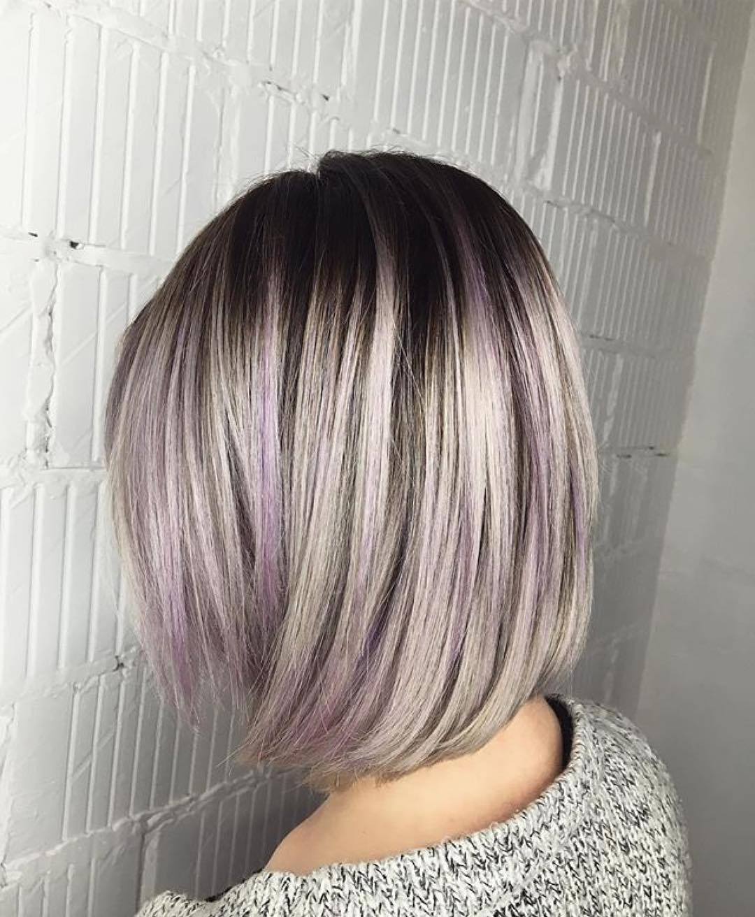 Балаяж на короткие волосы 2020: фото 9