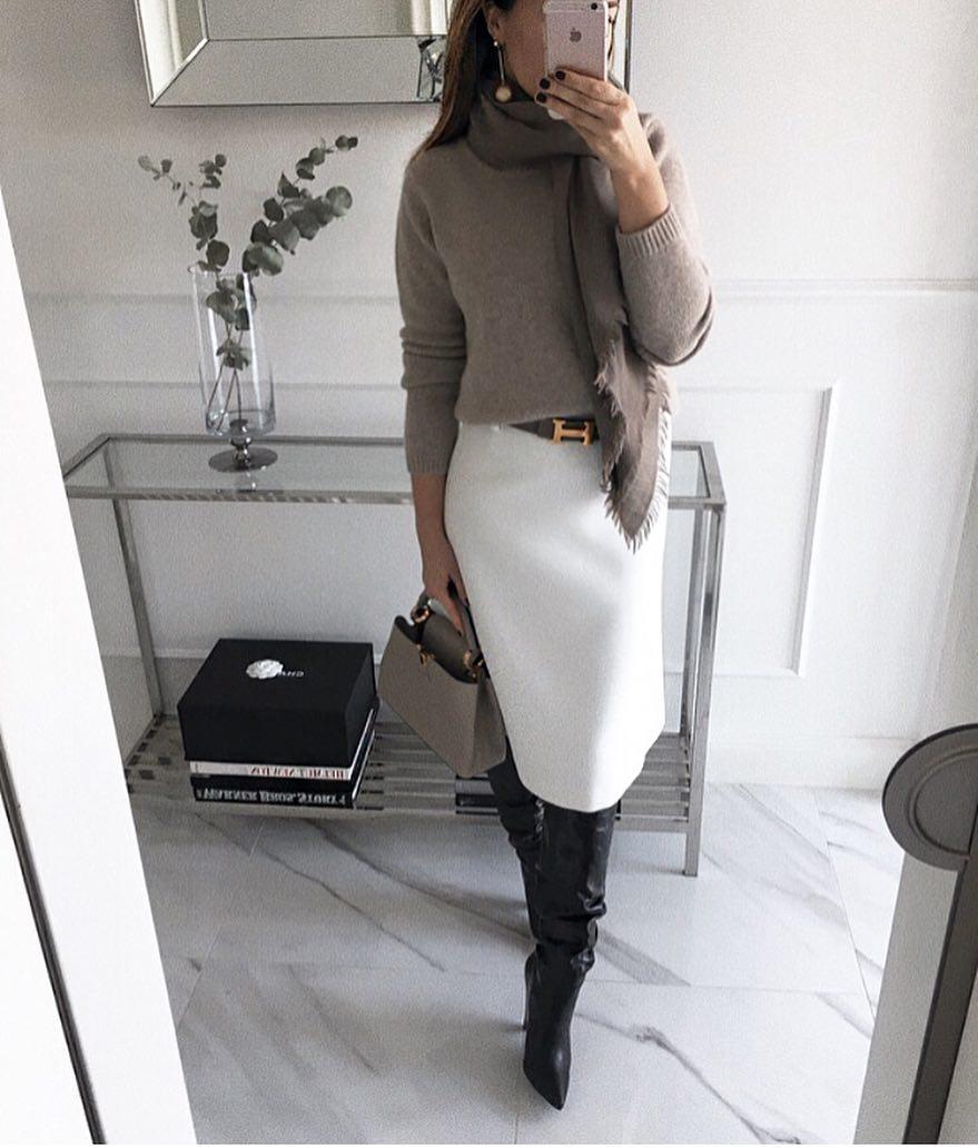 белая юбка 2020 фото 1