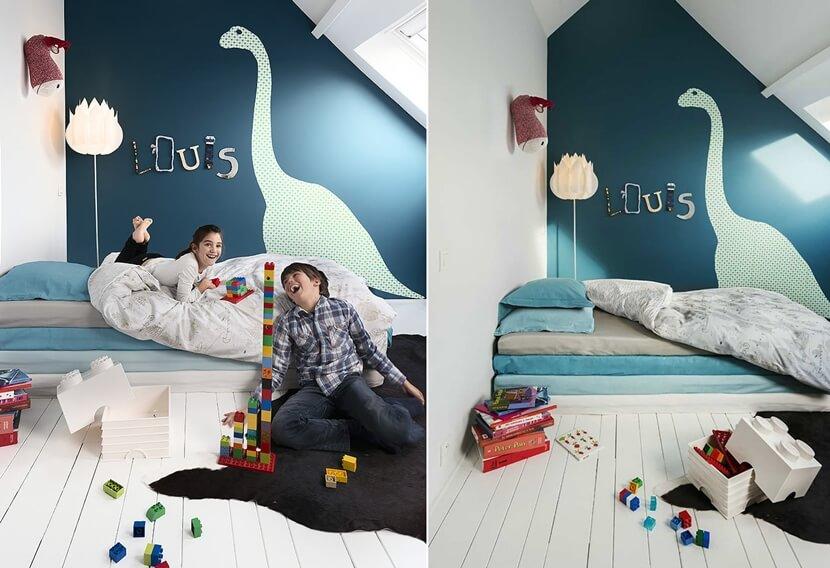 интерьер в детской комнате фото 7