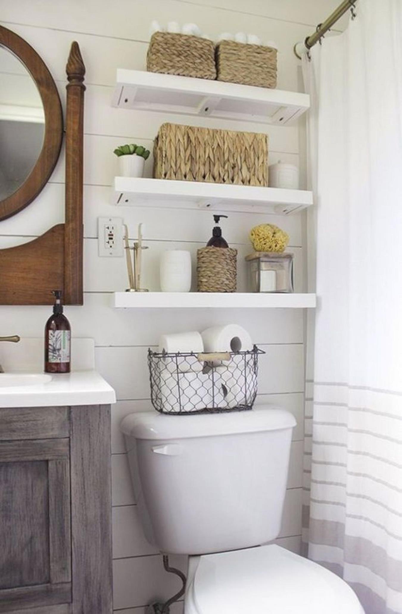 Организация пространства в ванной комнате фото 1