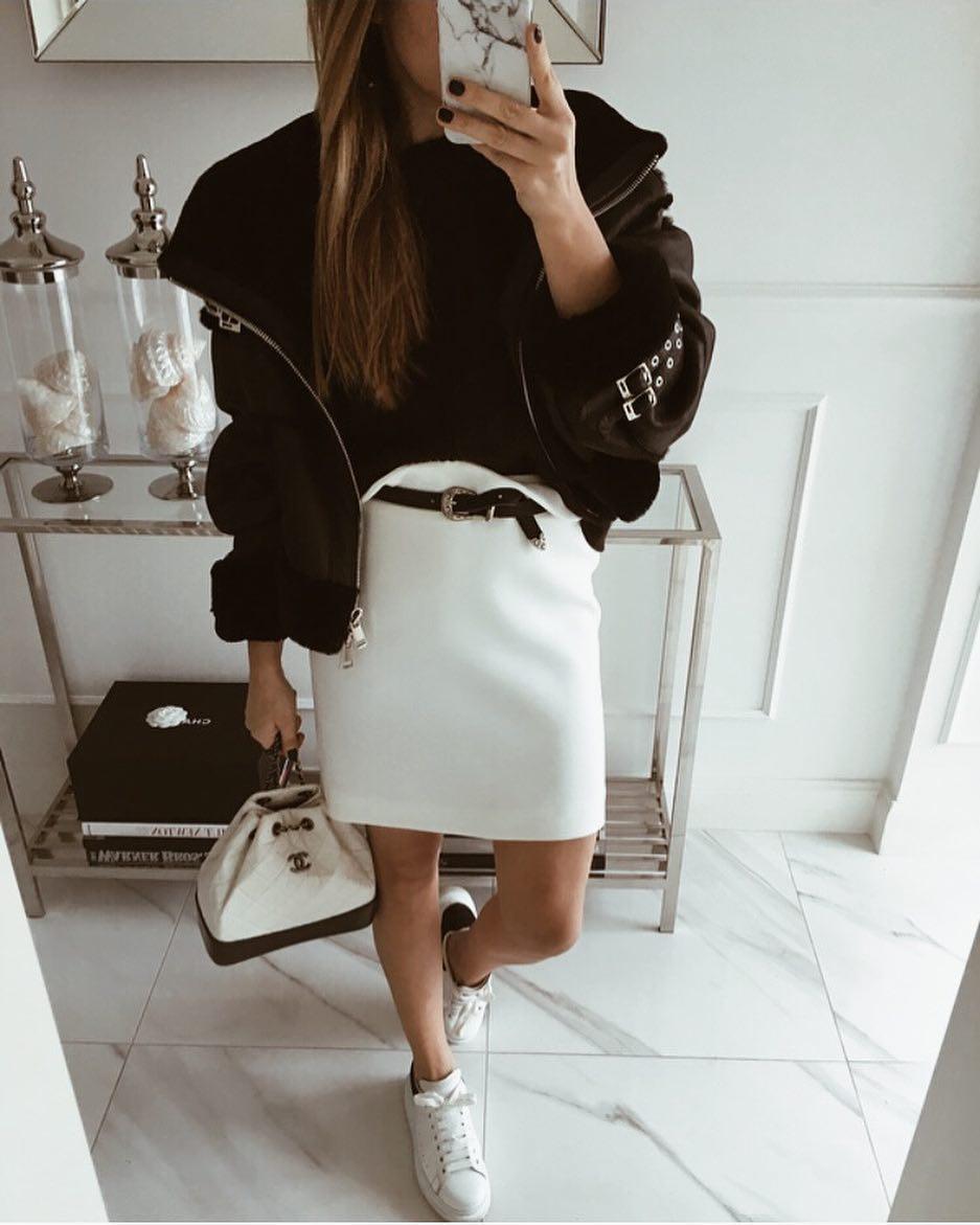 белая юбка 2020 фото 2