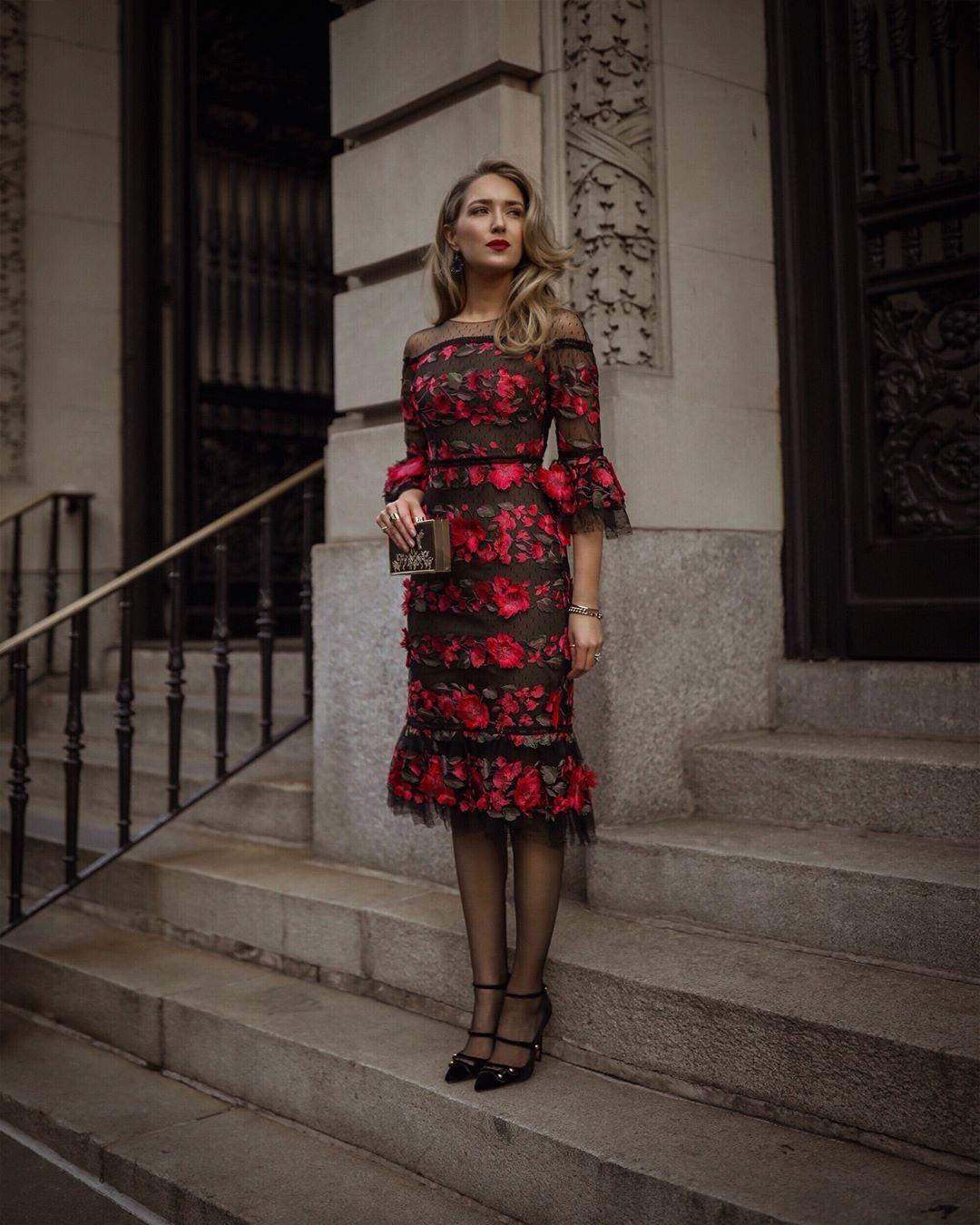 Платье с рукавом 3/4 2020 фото 9