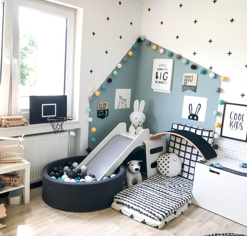 интерьер в детской комнате фото 3