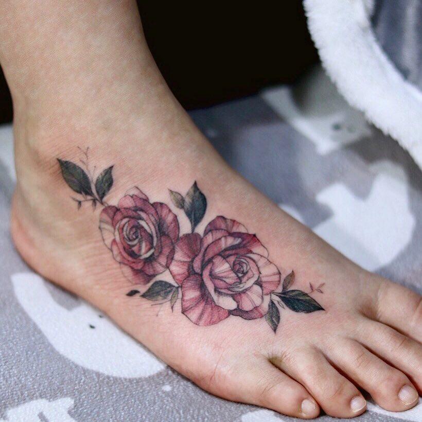 Креативные и стильные варианты татуировок фото 20