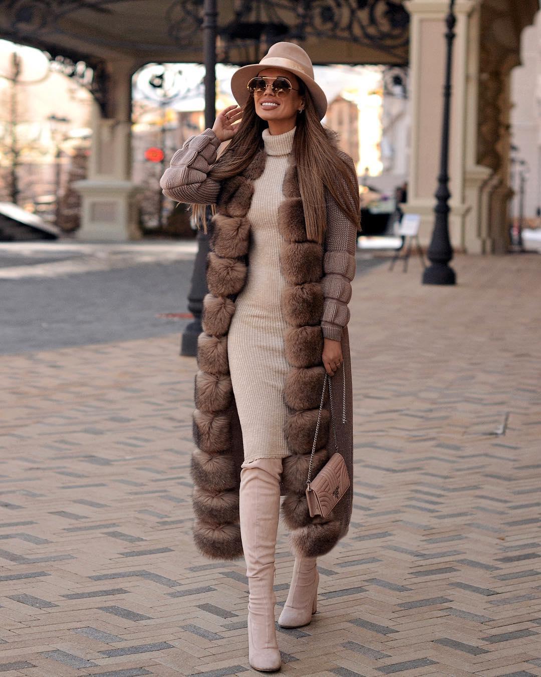 Вязаное пальто 2020 фото 3