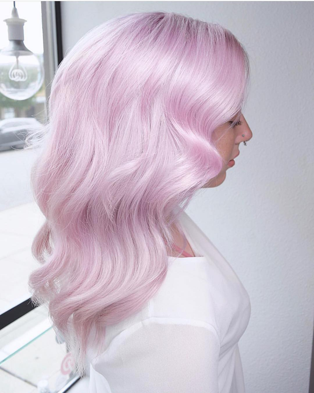 розовое окрашивание фото 4