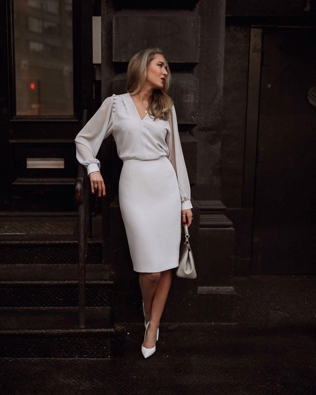 белая юбка 2020 фото 15