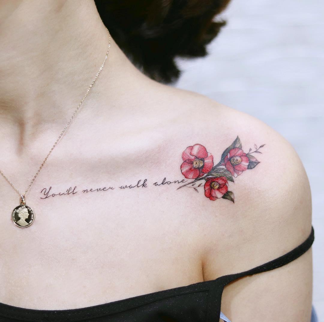 Креативные и стильные варианты татуировок фото 13