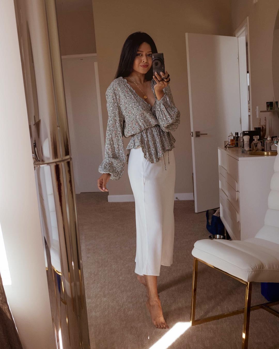 белая юбка 2020 фото 10