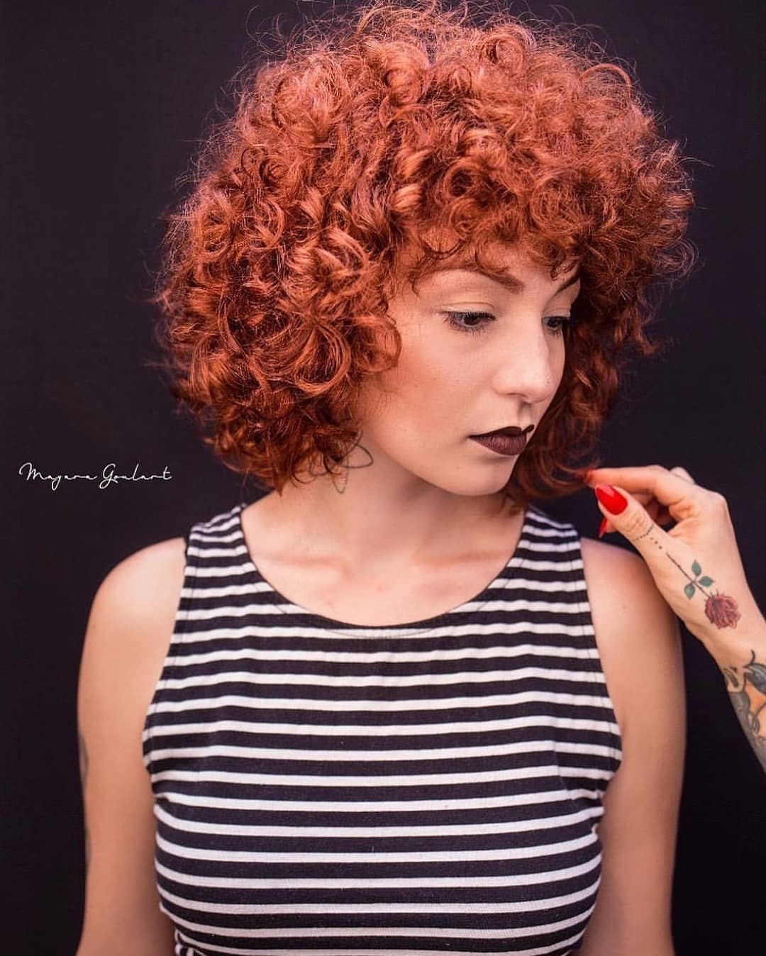 Завивка на короткие и средние волосы фото 6