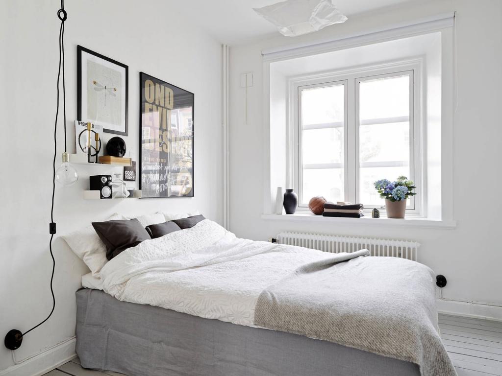 Дизайн интерьера небольшой спальни фото 1