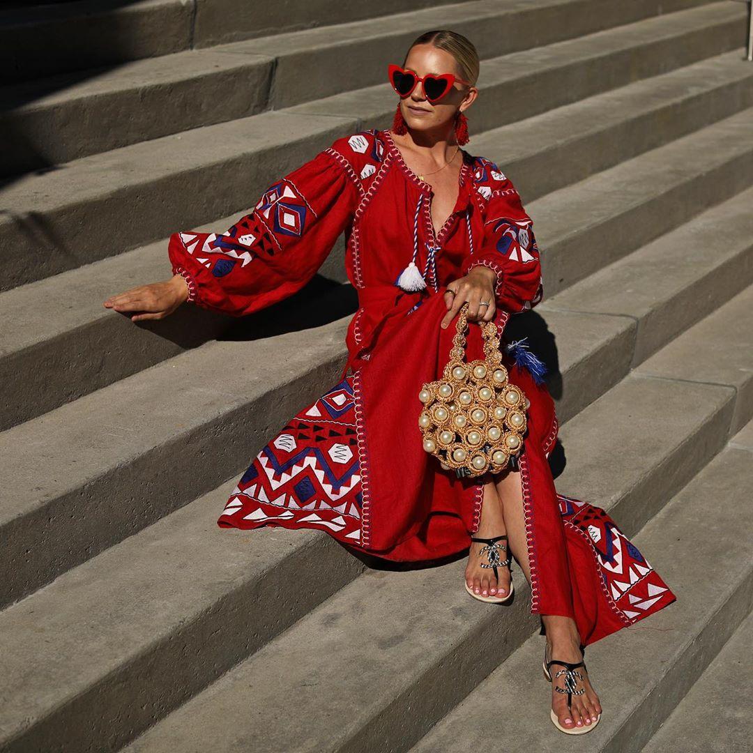 красное платье фото 4
