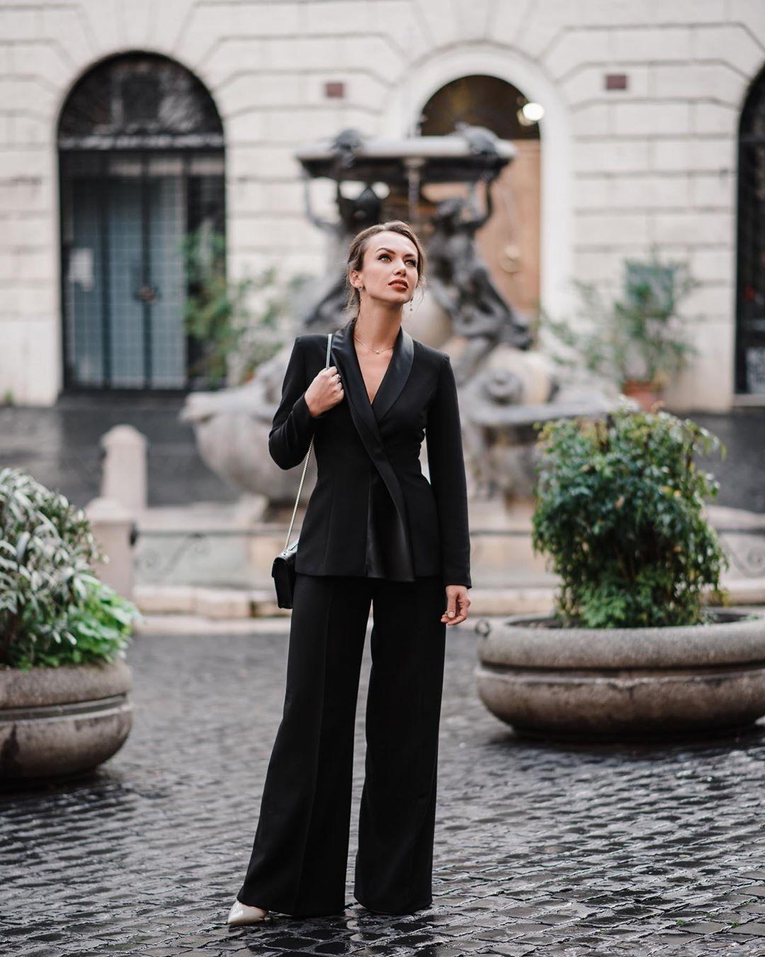 модные образы для бизнес-леди осень 2019 фото 4