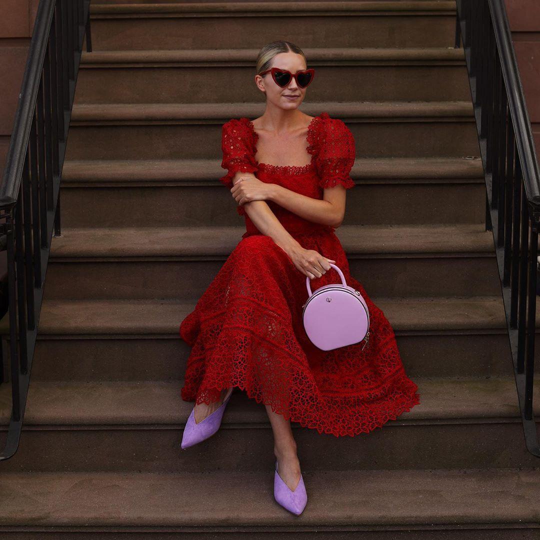 красное платье фото 5
