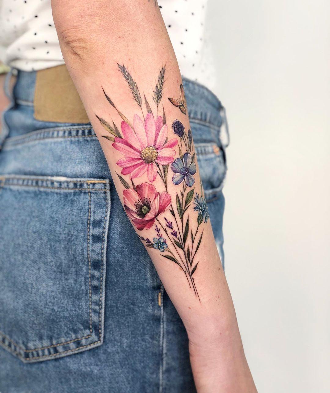 Креативные и стильные варианты татуировок фото 4