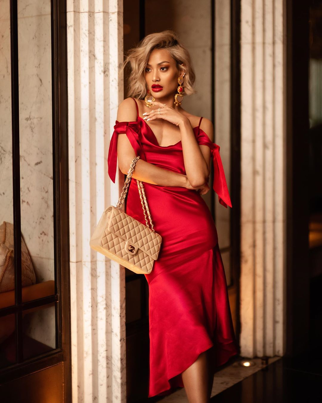 красное платье фото 8