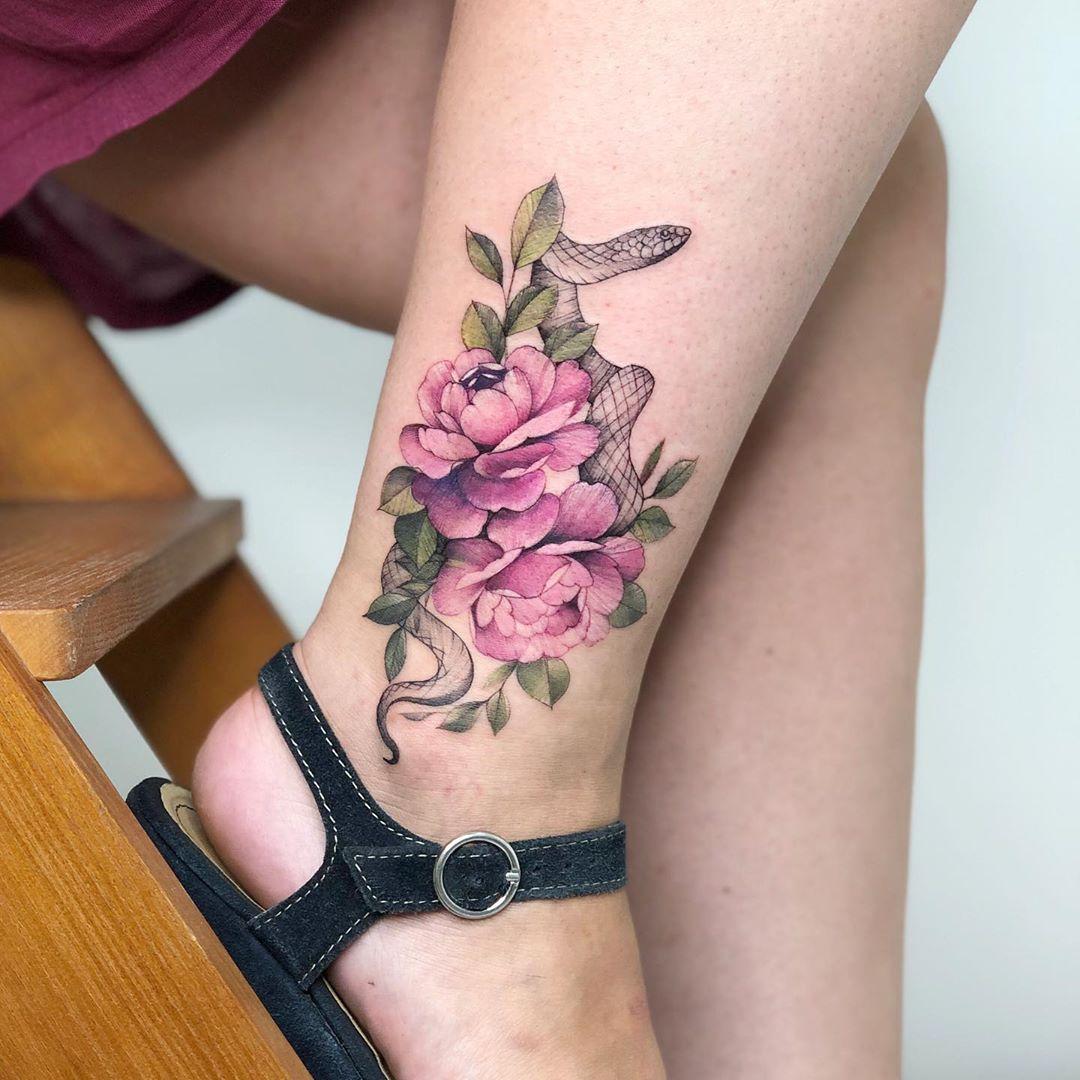 Креативные и стильные варианты татуировок фото 7