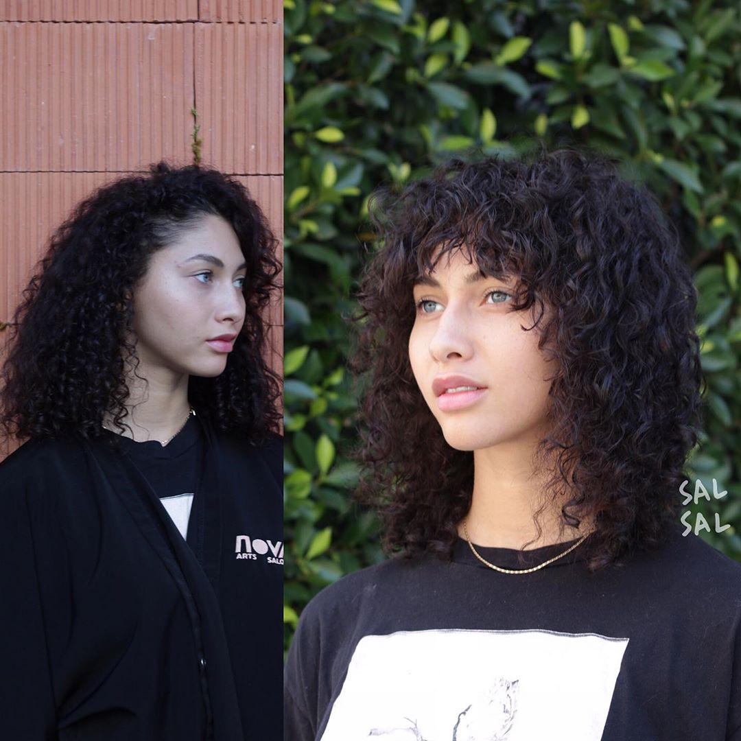 Укладка кудрявых волос фото 11