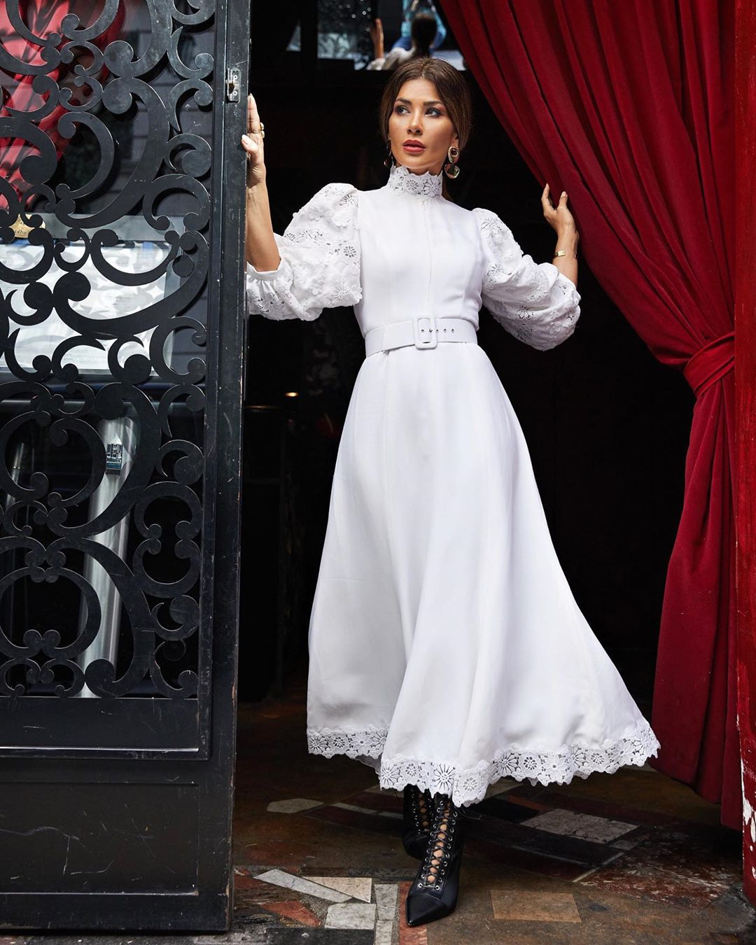 Платье с рукавом 3/4 2020 фото 5