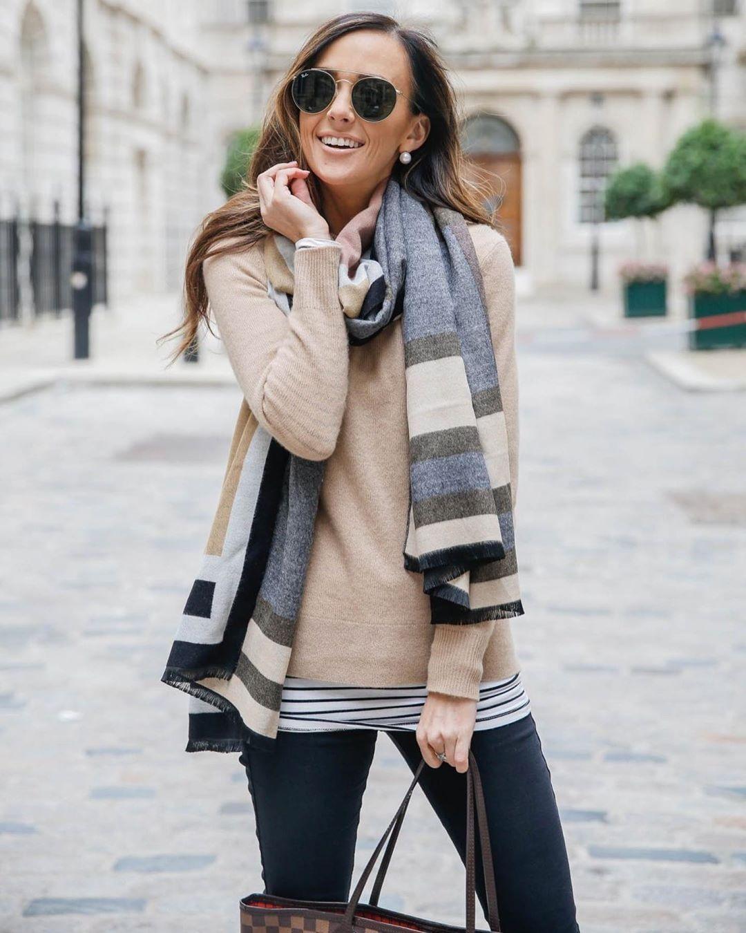 как завязать шарф на шее разными способами фото 3