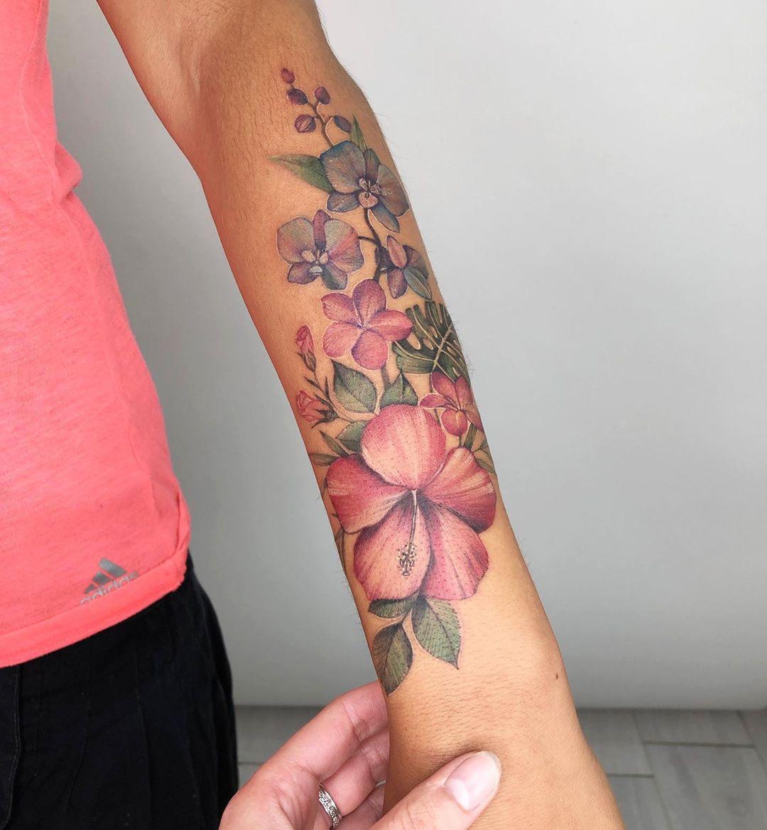 Креативные и стильные варианты татуировок фото 9