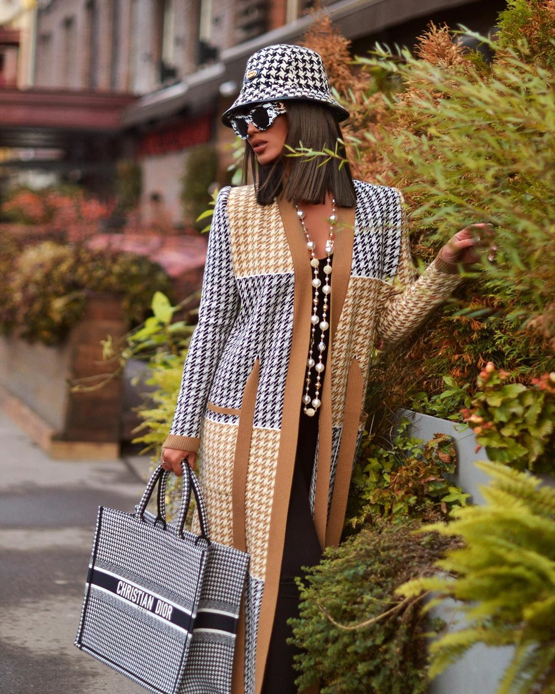 Вязаное пальто 2020 фото 5