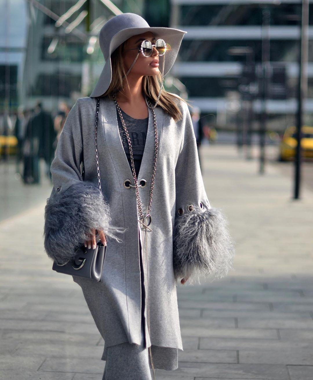 Вязаное пальто 2020 фото 4