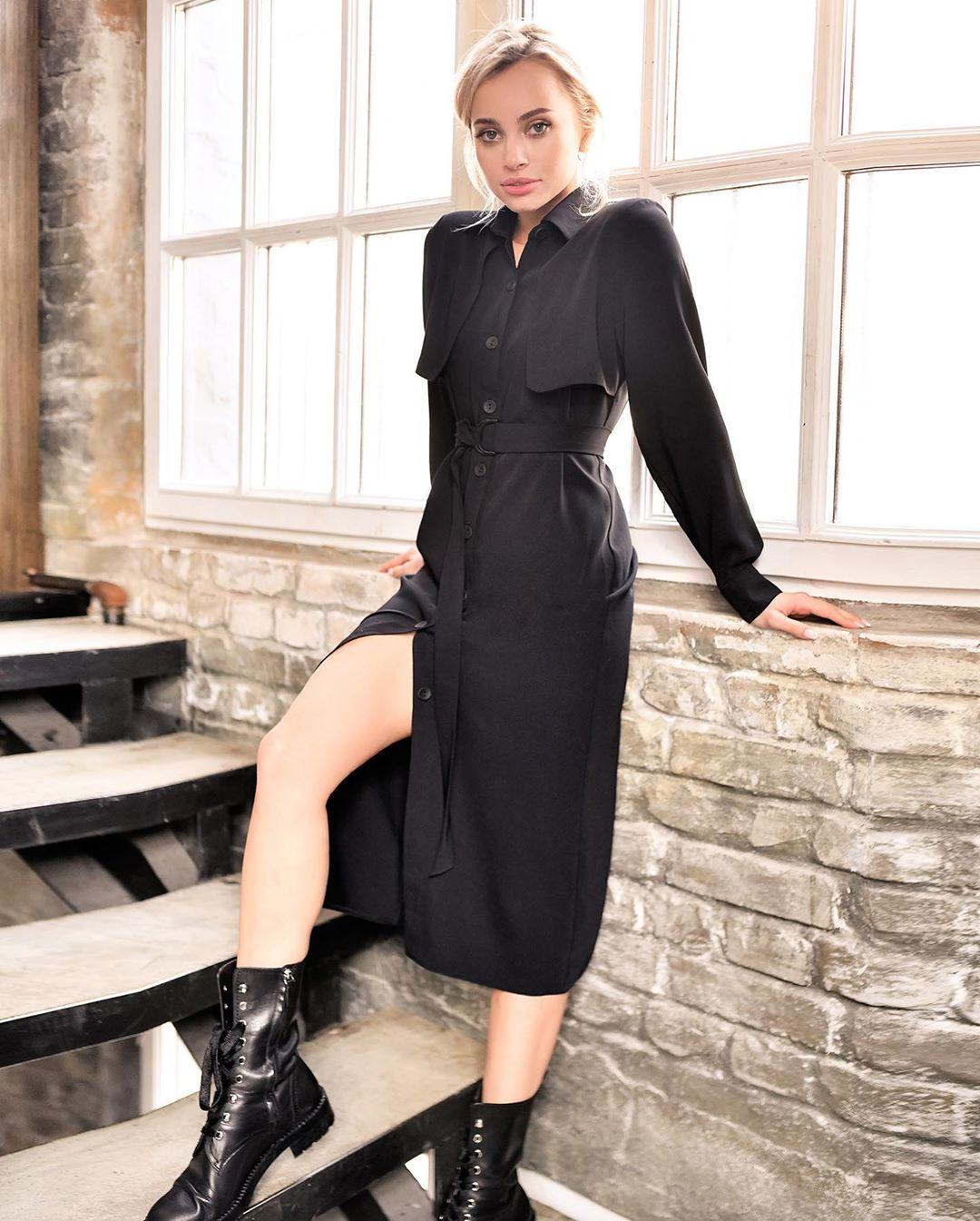 Платье-рубашка 2020 фото 8