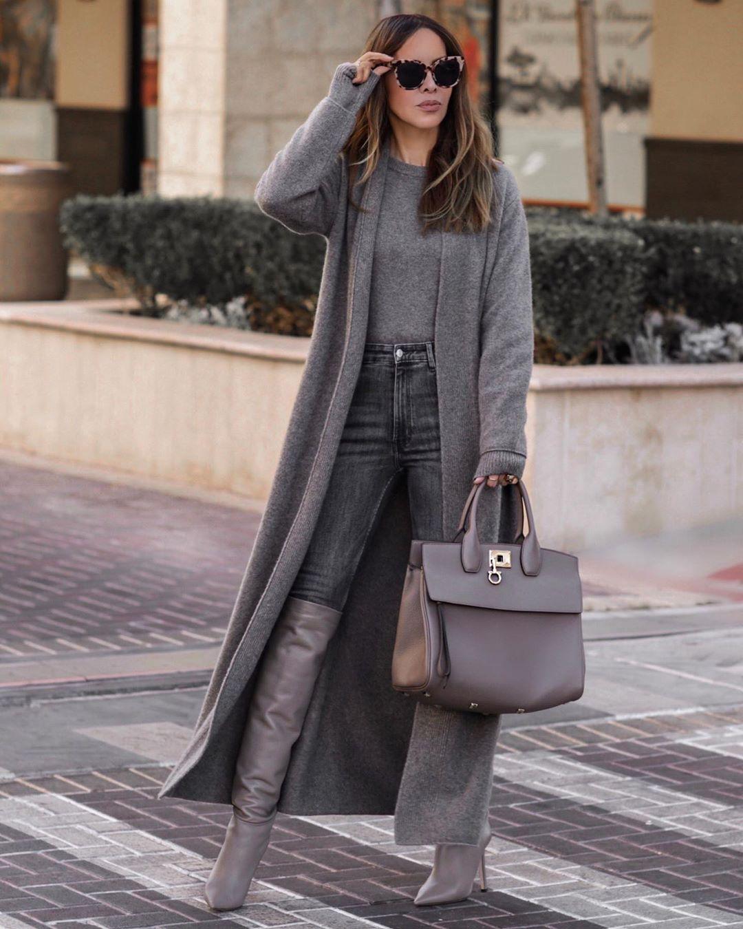 Вязаное пальто 2020 фото 10