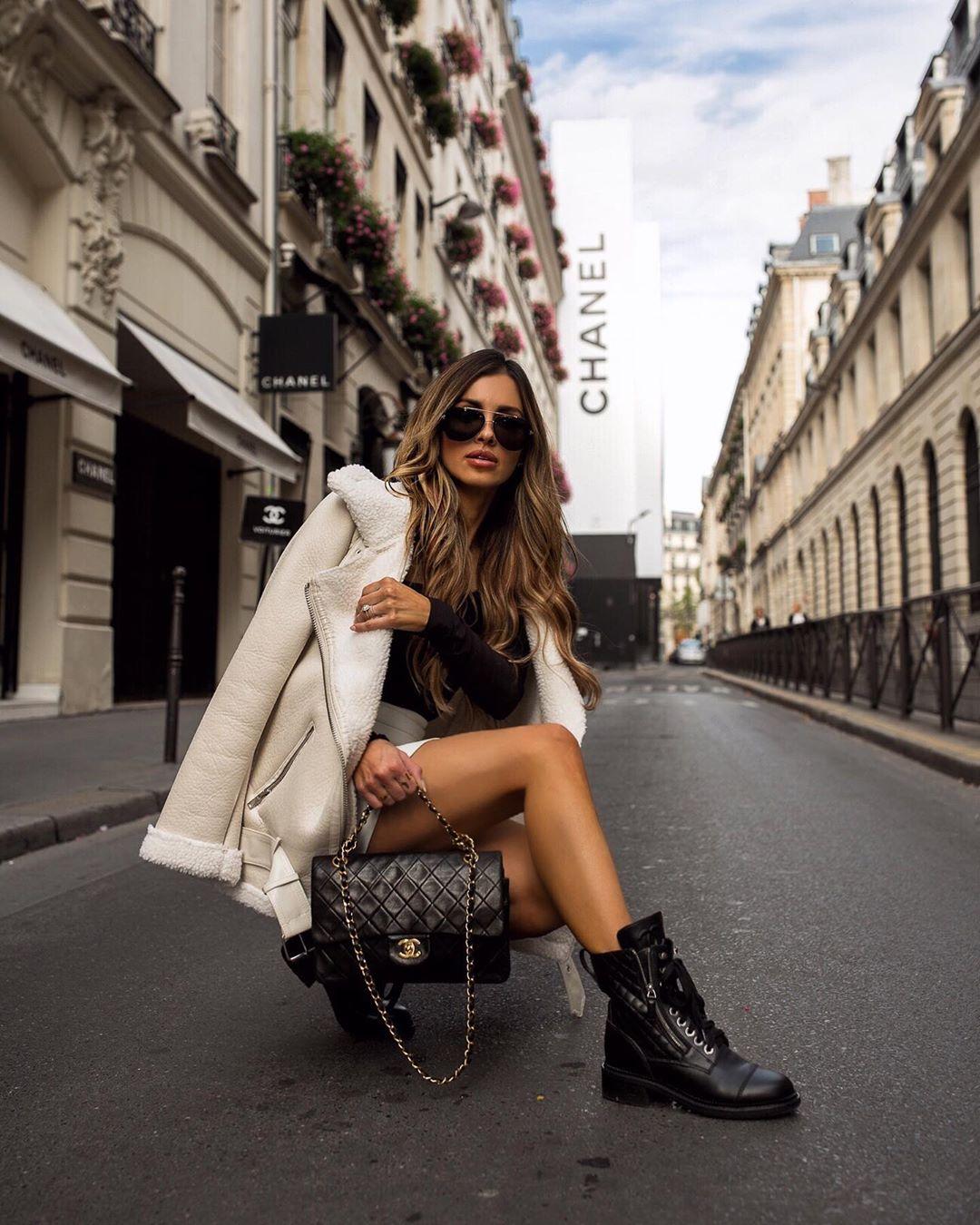 модные луки зима 2020 фото 10