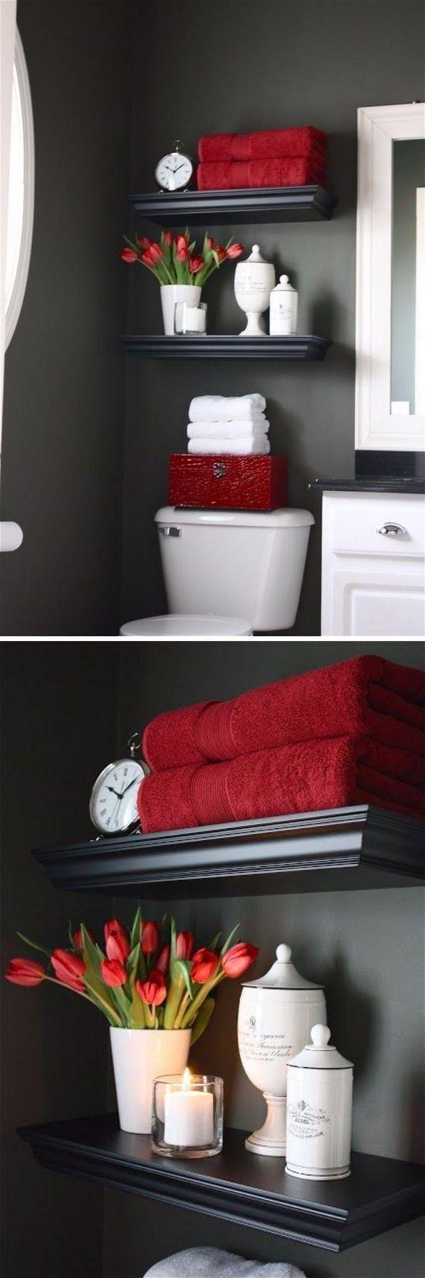 Организация пространства в ванной комнате фото 10