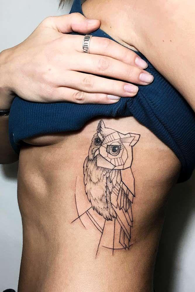 Татуировки с изображением совы фото 5