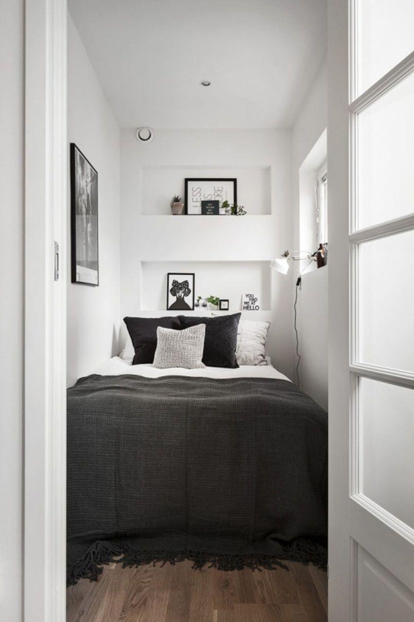 Дизайн интерьера небольшой спальни фото 8