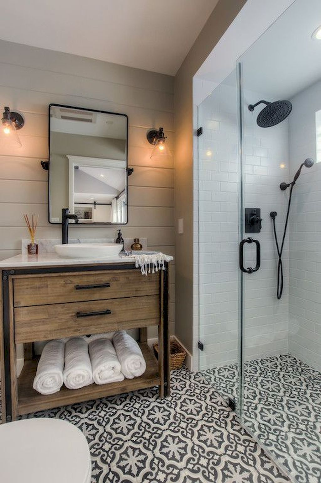 Организация пространства в ванной комнате фото 9