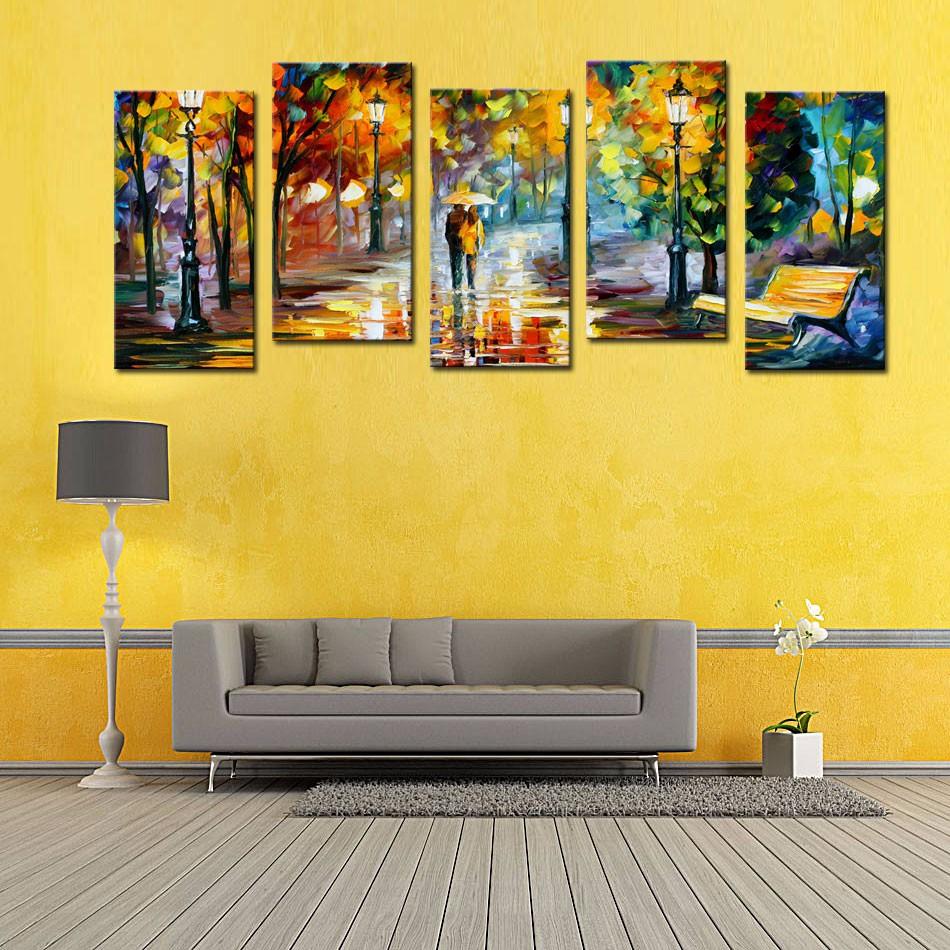 Настенное искусство в вашей гостиной фото 2