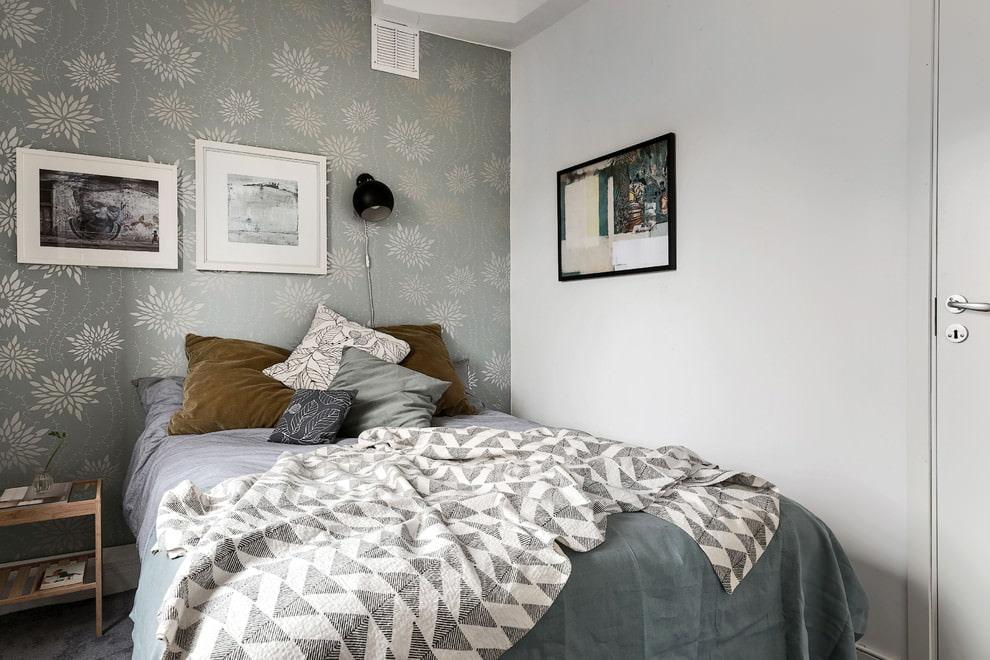 Дизайн интерьера небольшой спальни фото 9
