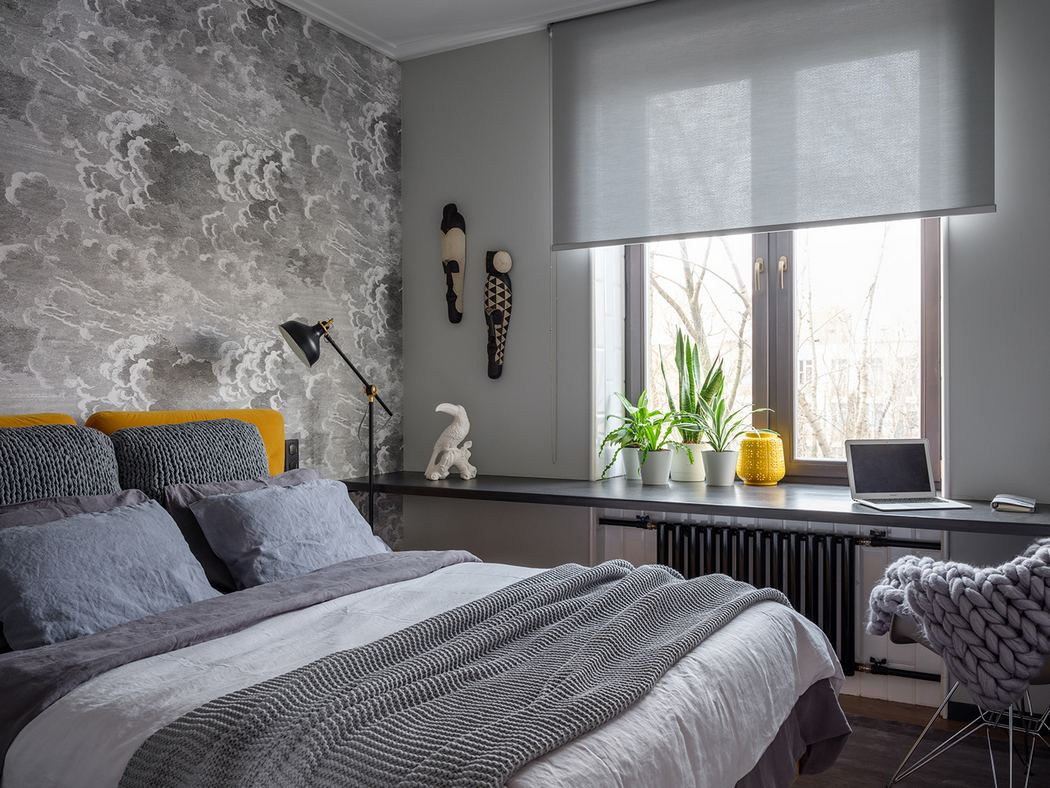 Дизайн интерьера небольшой спальни фото 5