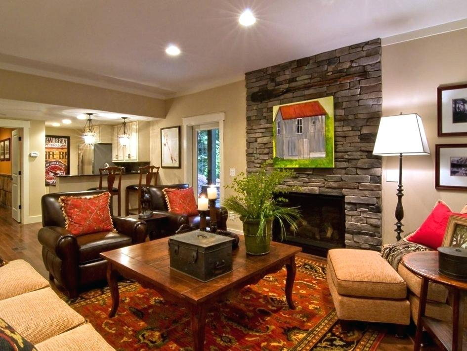 Идеи дизайна стен в гостиной комнате фото 7