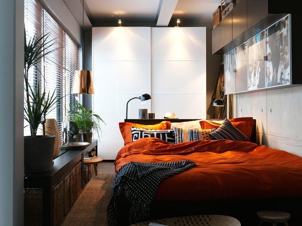 Дизайн интерьера небольшой спальни фото 6