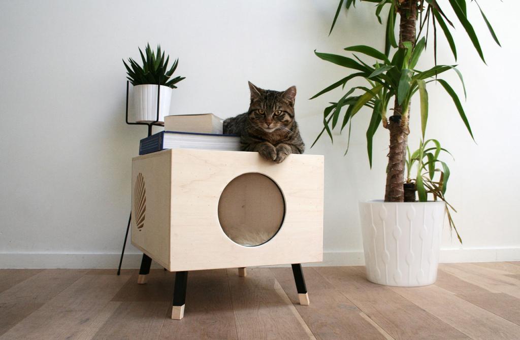 Квартирные идеи для кошек фото 30