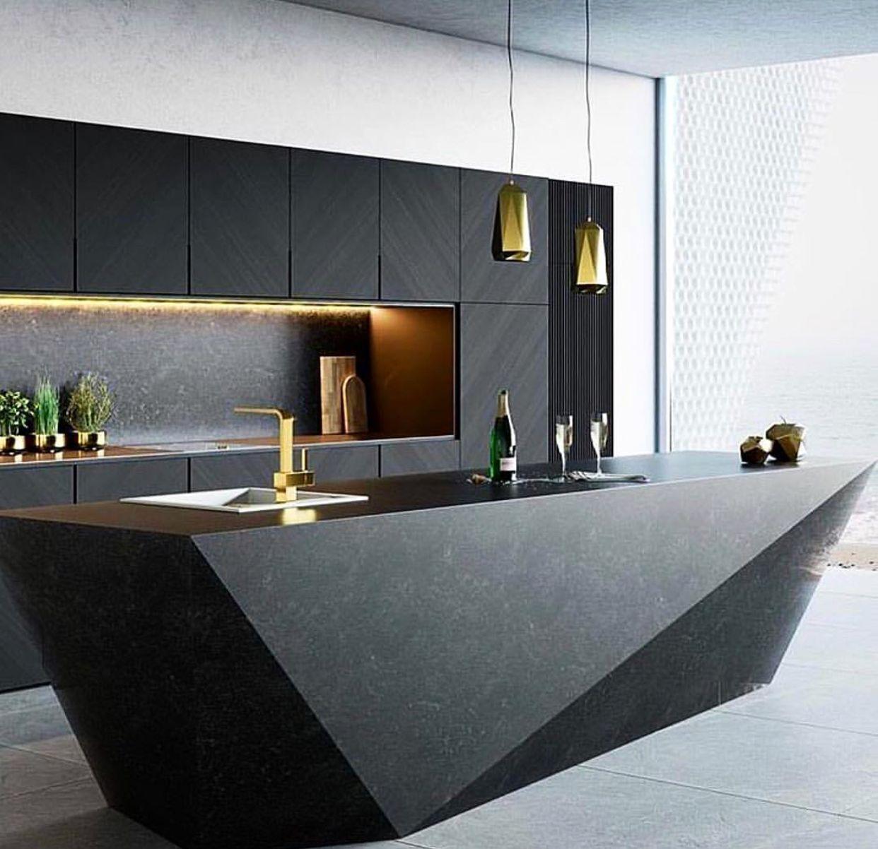 Дизайн кухонной мебели фото 15