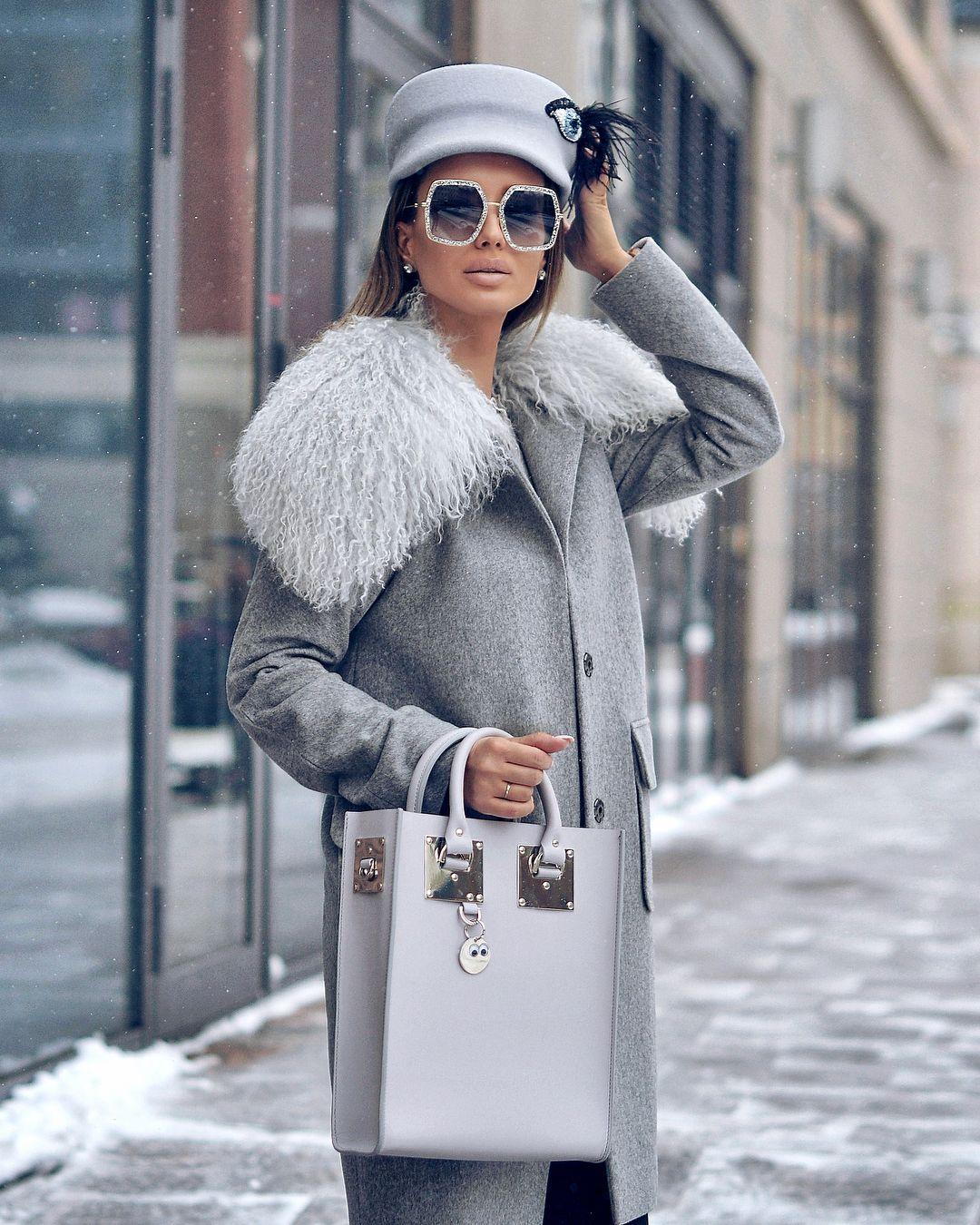 Пальто зимнее с мехом 2020 фото 2
