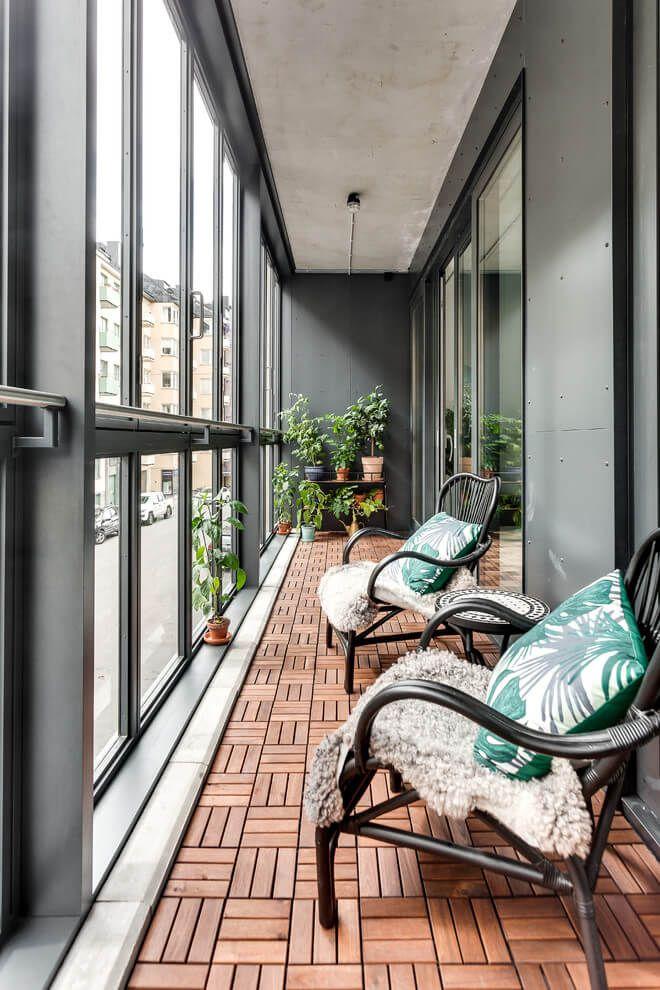 дизайн интерьера балкона фото 12